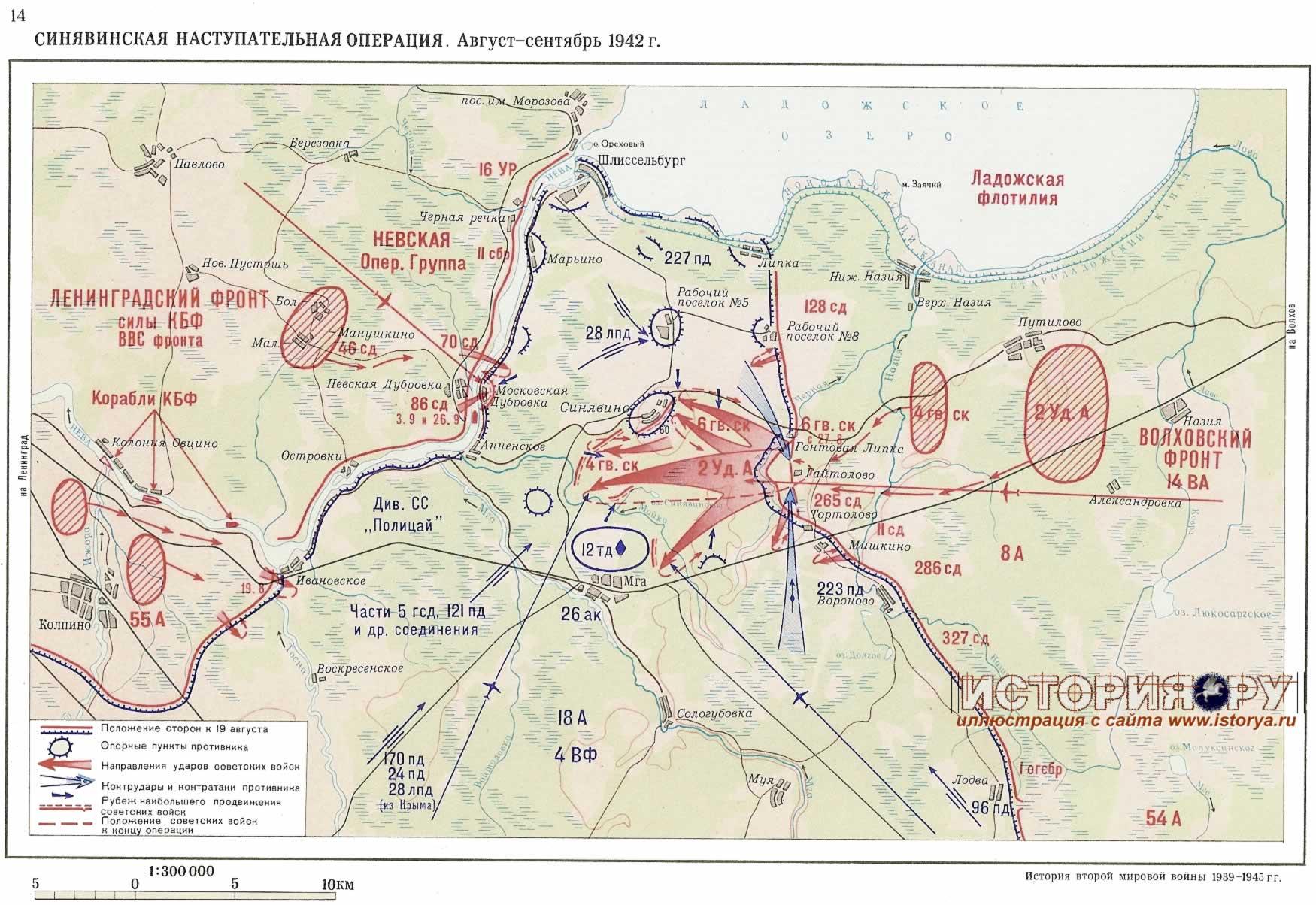 В одном месте нам удалось найти нетронутую артпозицию.  Хроника событий по прорыву блокады Ленинграда.