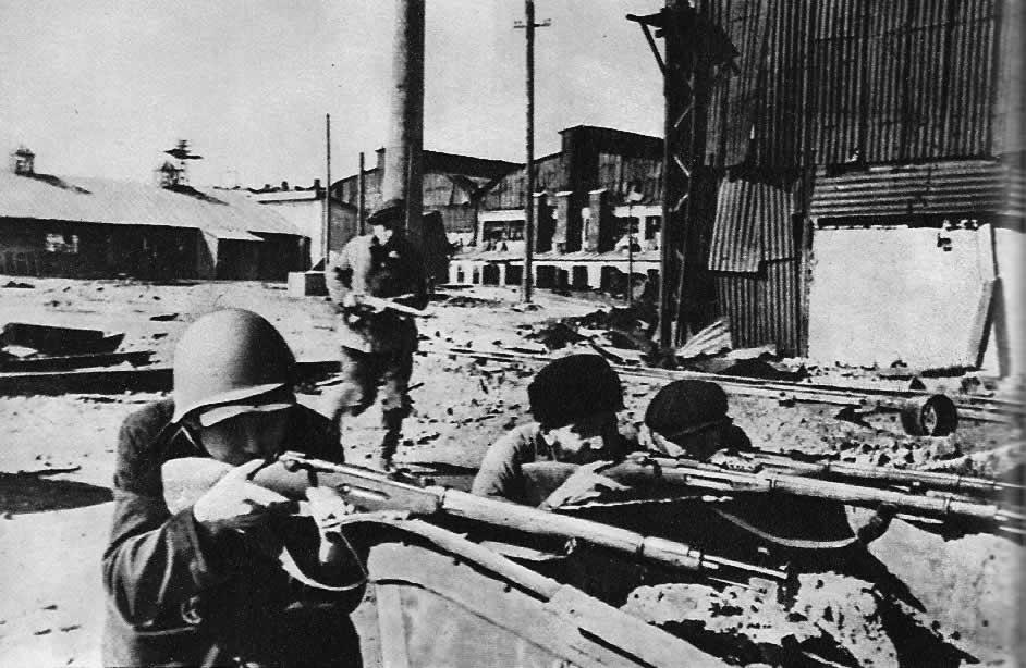 Защищают сталинград октябрь 1942 г