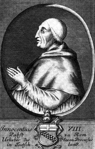 папа римский Иннокентий 8