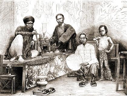 Употребление опиума в средневековье