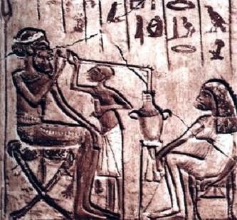 Прообраз кальяна. II-е тысячелетие до н.э.