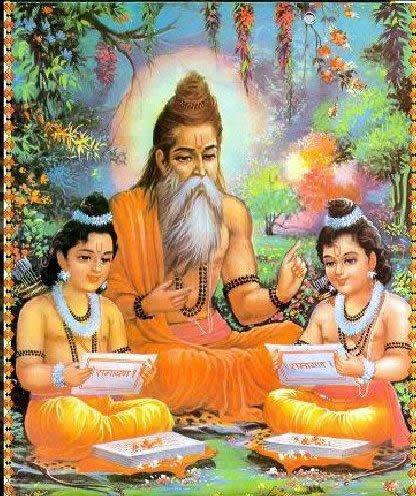 обучение в древней Индии