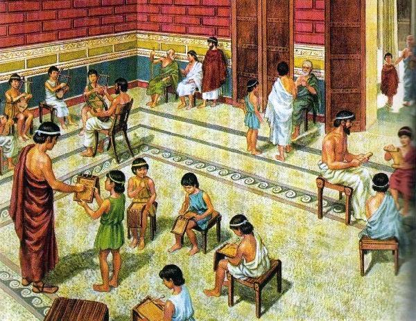 школа в Древнем Риме