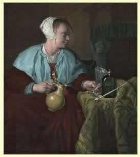 Женщины курящие трубку, редки сегодня, но женское курение было очень популярно в 17-ых и 18-ых столетиях.