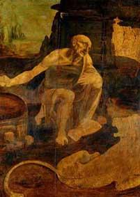 святой Иероним Леонардо