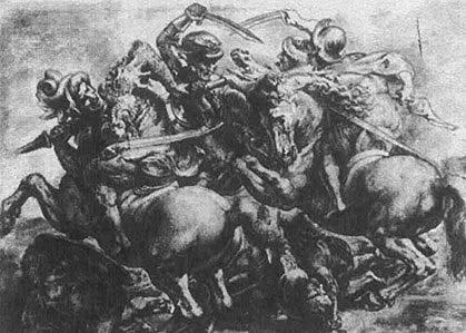 Битва при Ангьяри да Винчи