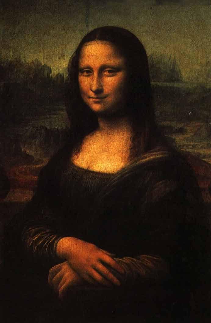 Мона Лиза - Джоконда Леонардо да Винчи