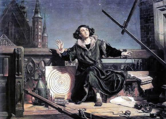 """Я.Матейко """"Астроном Коперник или разговор с богом"""""""