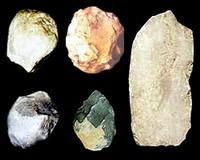 Каменные рубила питекантропа