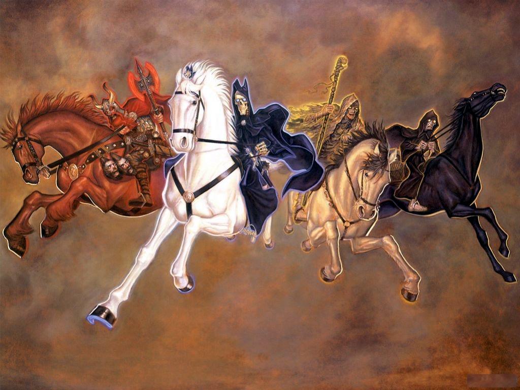конец света - четыре всадника апокалипсиса