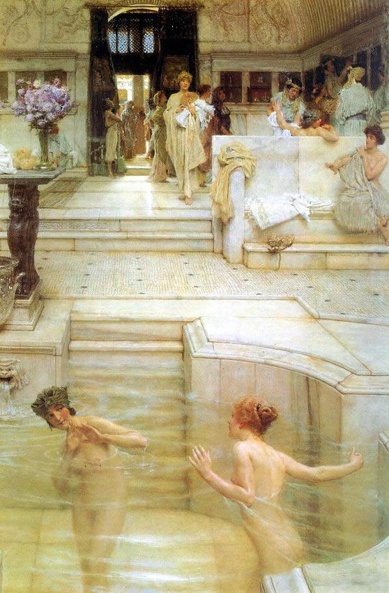 баня в древнем риме