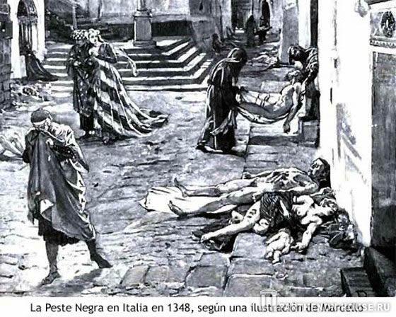 Эпидемия чумы в Италии 1348 г