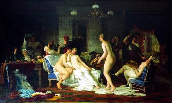 Ф.С. Журавлев. Девичник в бане