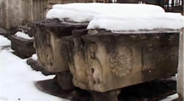 Могила салтычихе на кладбище Донского монастыря в Москве
