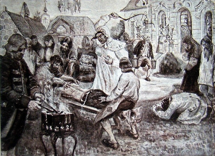 Салтычиха. Картина П.В. Курдюмова